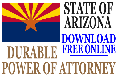 Durable Power of Attorney Arizona