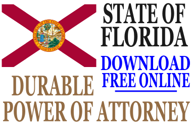 Florida Durable Power of Attorney - Free Durable Power of Attorney ...