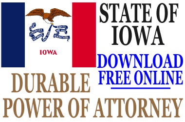 Durable Power of Attorney Iowa