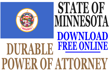 Durable Power of Attorney Minnesota