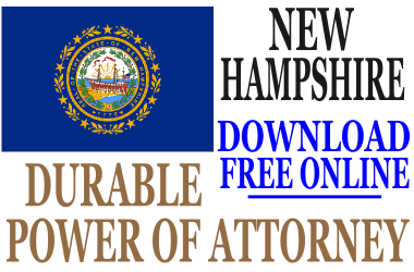 Durable Power of Attorney New Hampshire