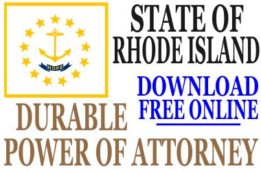 Durable Power of Attorney Rhode Island