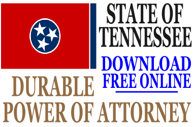 Tennessee Durable Power of Attorney - Free Durable Power of ...