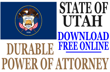 Durable Power of Attorney Utah