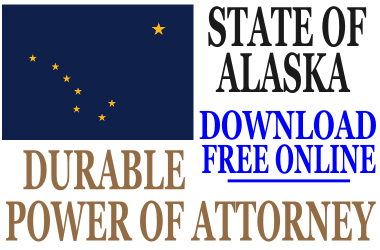 Durable Power of Attorney Alaska