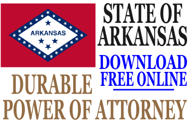 Durable Power of Attorney Arkansas