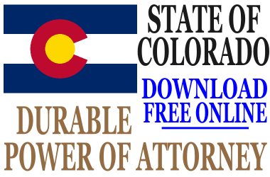 Durable Power of Attorney Colorado