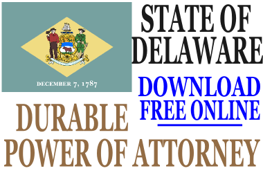 Durable Power of Attorney Delaware