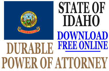 Durable Power of Attorney Idaho