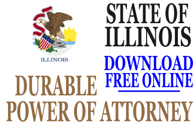 Durable Power of Attorney Illinois