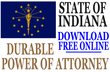 Durable Power of Attorney Indiana