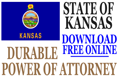 Durable Power of Attorney Kansas