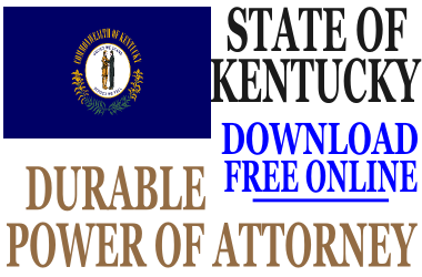 Durable Power of Attorney Kentucky