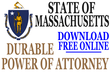 Durable Power of Attorney Massachusetts