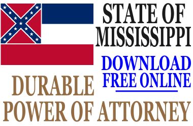 Durable Power of Attorney Mississippi