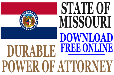 Durable Power of Attorney Missouri