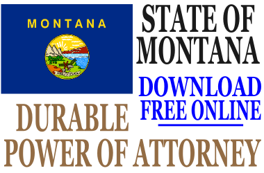 Durable Power of Attorney Montana