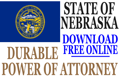 Durable Power of Attorney Nebraska