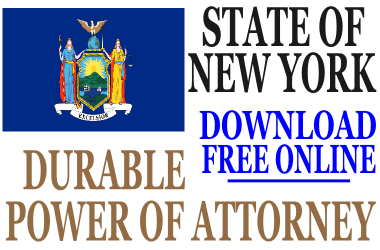 Durable Power of Attorney New York