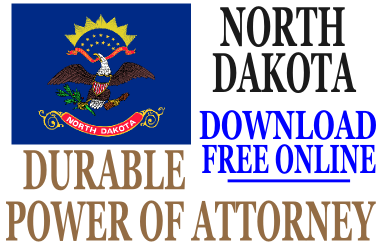 Durable Power of Attorney North Dakota