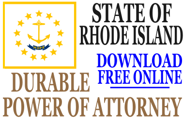Durable Power of Attorney Rhode Island