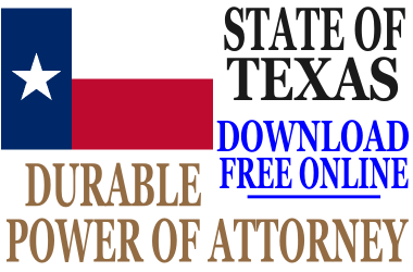 Durable Power of Attorney Texas